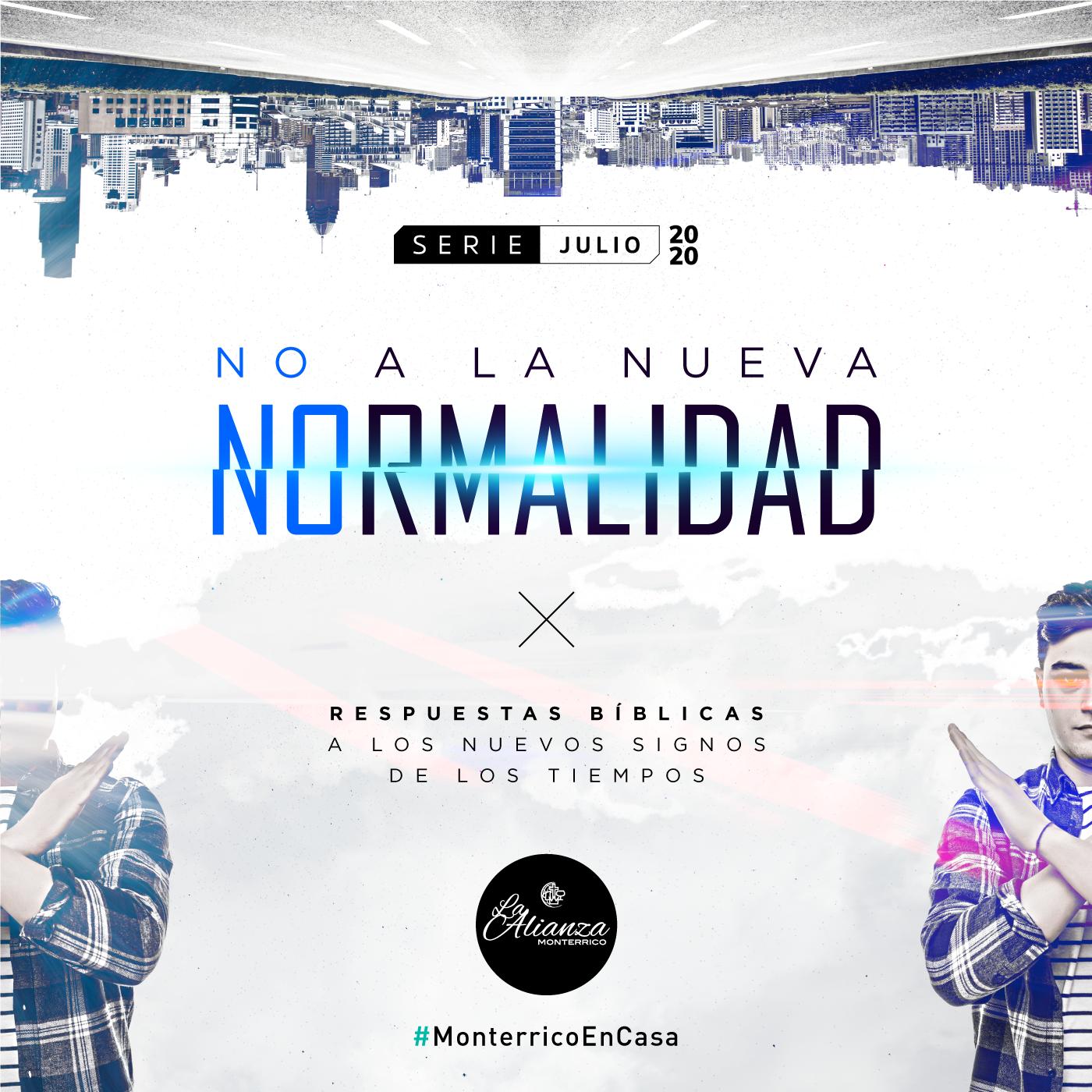 No a la nueva normalidad