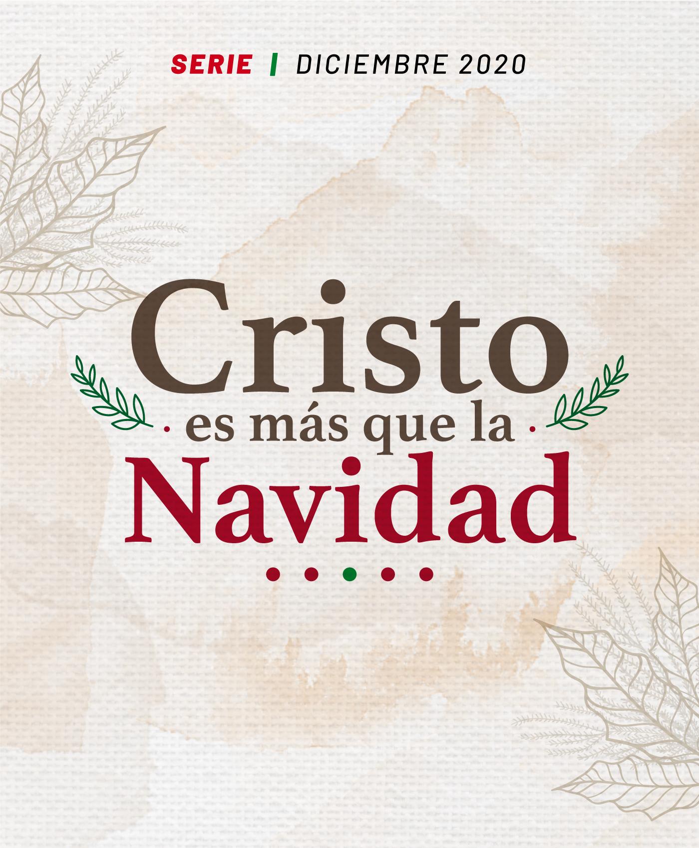 Cristo es más que la Navidad